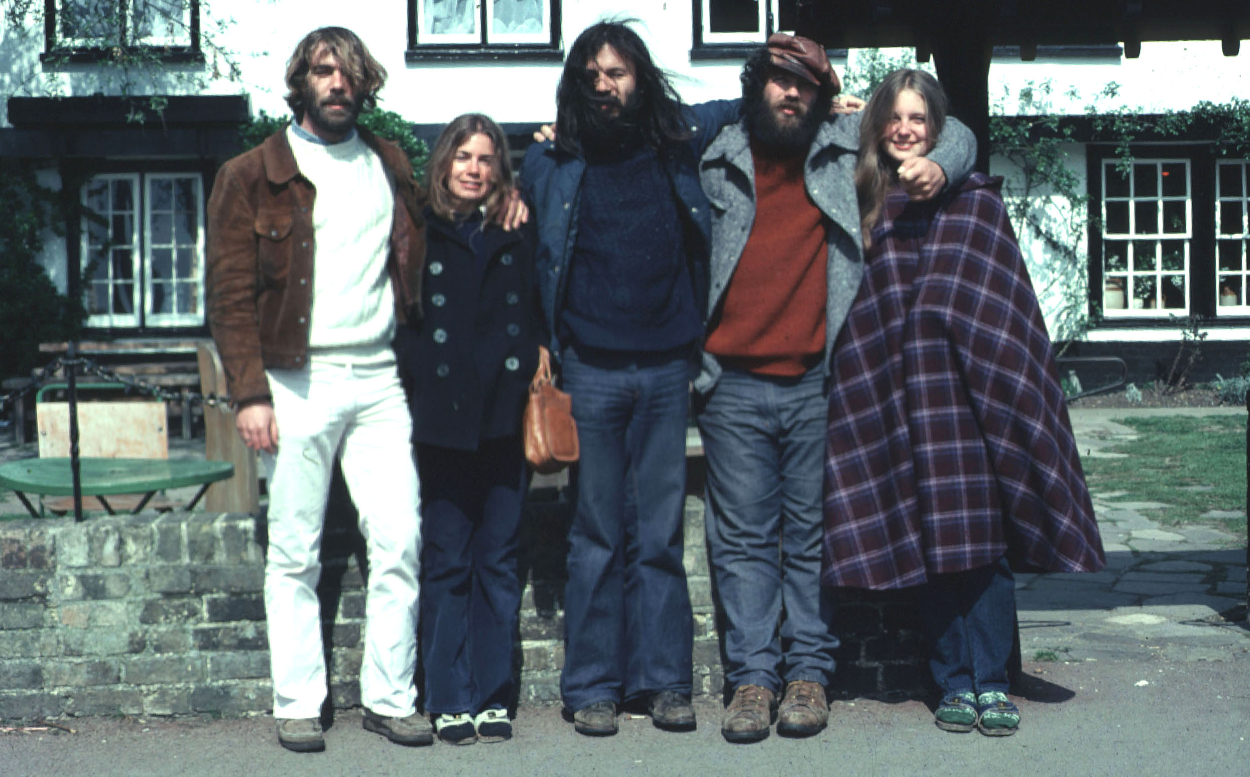 Harry Noller and pals at Cambridge in 1976